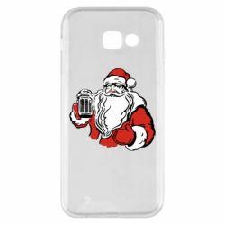 Чехол для Samsung A5 2017 Santa Claus with beer