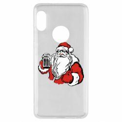 Чехол для Xiaomi Redmi Note 5 Santa Claus with beer
