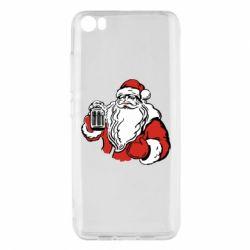 Чехол для Xiaomi Mi5/Mi5 Pro Santa Claus with beer