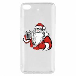 Чехол для Xiaomi Mi 5s Santa Claus with beer