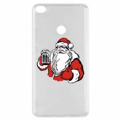 Чехол для Xiaomi Mi Max 2 Santa Claus with beer