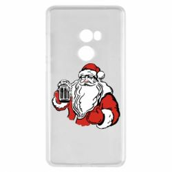Чехол для Xiaomi Mi Mix 2 Santa Claus with beer