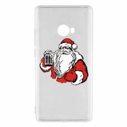 Чехол для Xiaomi Mi Note 2 Santa Claus with beer
