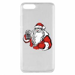 Чехол для Xiaomi Mi Note 3 Santa Claus with beer