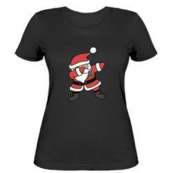 Женская футболка Santa dabbing