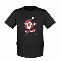 Детская футболка Santa dabbing