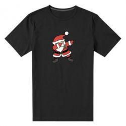 Мужская стрейчевая футболка Santa dabbing