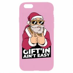 Чехол для iPhone 6 Plus/6S Plus Santa gangster