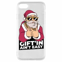 Чехол для iPhone 7 Santa gangster