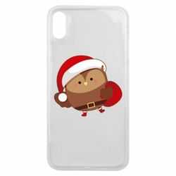 Чехол для iPhone Xs Max Santa Owl