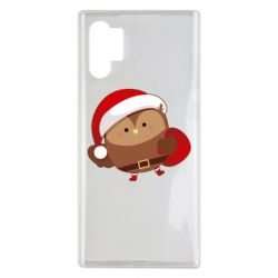 Чехол для Samsung Note 10 Plus Santa Owl