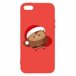 Чехол для iPhone5/5S/SE Santa Owl