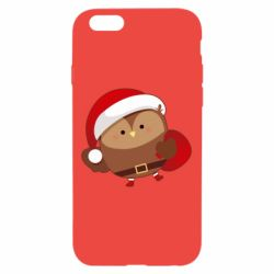 Чехол для iPhone 6/6S Santa Owl