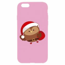 Чехол для iPhone 6 Plus/6S Plus Santa Owl