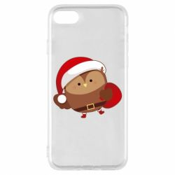 Чехол для iPhone 8 Santa Owl