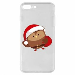 Чехол для iPhone 8 Plus Santa Owl