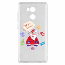 Чехол для Xiaomi Redmi 4 Pro/Prime Santa says merry christmas