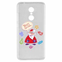 Чехол для Xiaomi Redmi 5 Santa says merry christmas