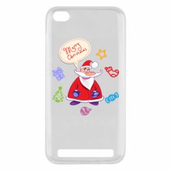 Чехол для Xiaomi Redmi 5A Santa says merry christmas
