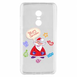 Чехол для Xiaomi Redmi Note 4 Santa says merry christmas