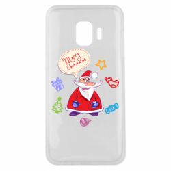Чехол для Samsung J2 Core Santa says merry christmas