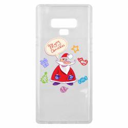 Чехол для Samsung Note 9 Santa says merry christmas