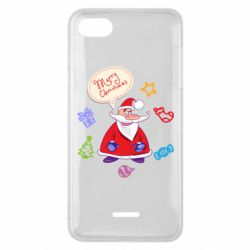 Чехол для Xiaomi Redmi 6A Santa says merry christmas