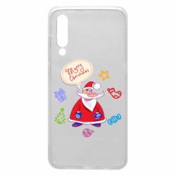 Чехол для Xiaomi Mi9 Santa says merry christmas