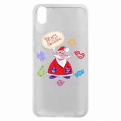 Чехол для Xiaomi Redmi 7A Santa says merry christmas
