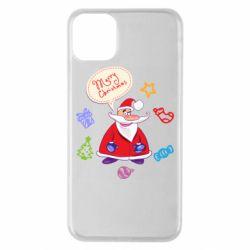 Чехол для iPhone 11 Pro Max Santa says merry christmas