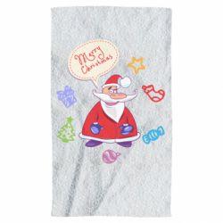 Полотенце Santa says merry christmas