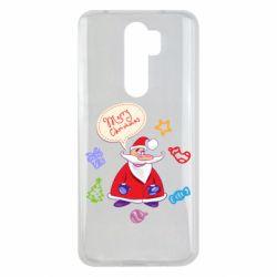 Чехол для Xiaomi Redmi Note 8 Pro Santa says merry christmas