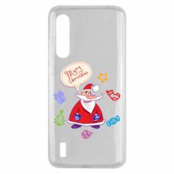 Чехол для Xiaomi Mi9 Lite Santa says merry christmas