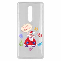 Чехол для Xiaomi Mi9T Santa says merry christmas