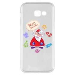 Чехол для Samsung A5 2017 Santa says merry christmas