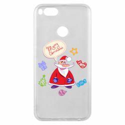 Чехол для Xiaomi Mi A1 Santa says merry christmas