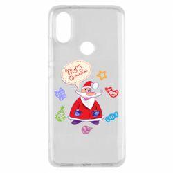 Чехол для Xiaomi Mi A2 Santa says merry christmas