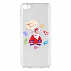 Чехол для Xiaomi Mi5/Mi5 Pro Santa says merry christmas