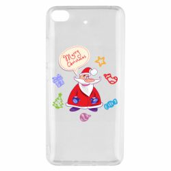 Чехол для Xiaomi Mi 5s Santa says merry christmas