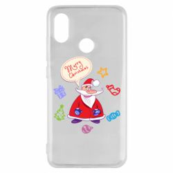 Чехол для Xiaomi Mi8 Santa says merry christmas