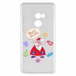 Чехол для Xiaomi Mi Mix 2 Santa says merry christmas