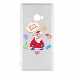 Чехол для Xiaomi Mi Note 2 Santa says merry christmas