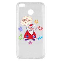 Чехол для Xiaomi Redmi 4x Santa says merry christmas