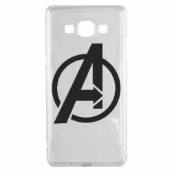 Чохол для Samsung A5 2015 Сaptain Аmerica logo