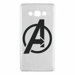 Чохол для Samsung A7 2015 Сaptain Аmerica logo