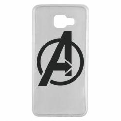 Чохол для Samsung A7 2016 Сaptain Аmerica logo