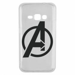 Чохол для Samsung J1 2016 Сaptain Аmerica logo