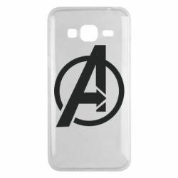 Чохол для Samsung J3 2016 Сaptain Аmerica logo