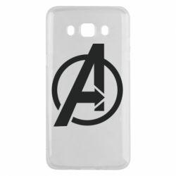 Чохол для Samsung J5 2016 Сaptain Аmerica logo