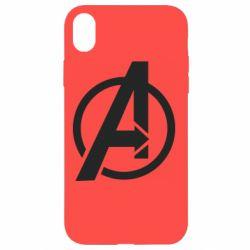 Чохол для iPhone XR Сaptain Аmerica logo